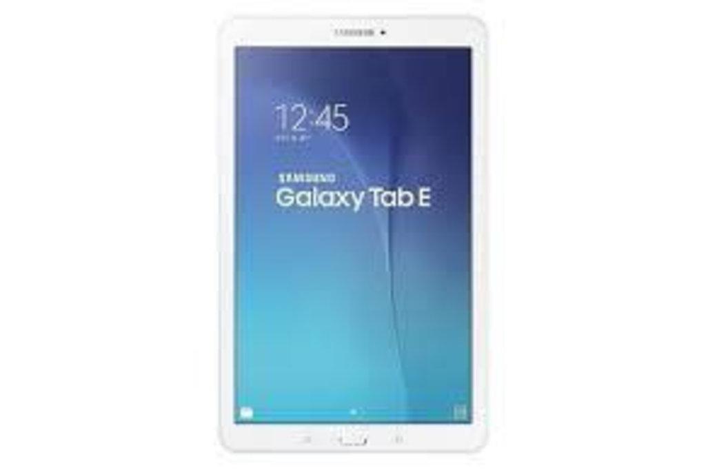 Samsung Galaxy Tab E 3G  - Wit (8806088051963 )