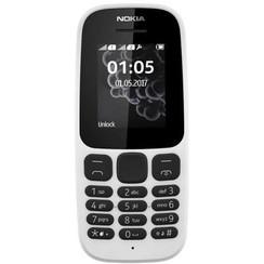 Nokia 105 - Zilver (5412882715197 )
