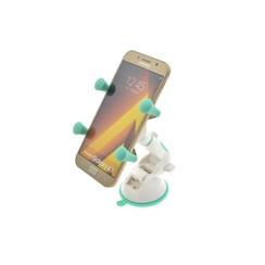 Flexibel Wit Telefoonhouder auto - Universele telefoonhouder Zuignap -Veilig Bellen en Navigeren - Kunststof