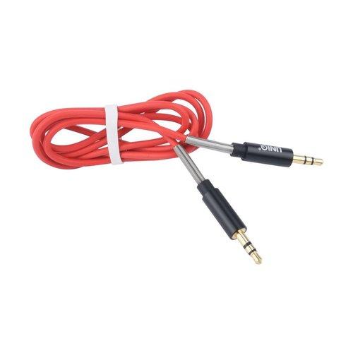 UNIQ Accessory UNIQ Accessory Audiokabel Anti-Winding AUX - Rood