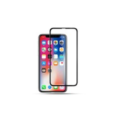 Display Schutzglas für  iPhone X-Xs - Schwarz