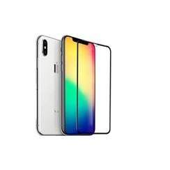 Display Schutzglas für iPhone Xs Max - Schwarz