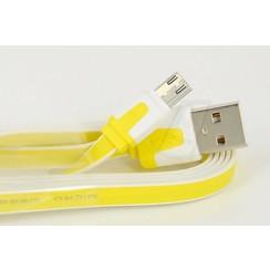 Imitate Micro USB Kabel - Geel