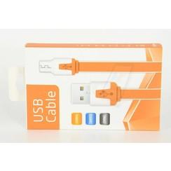Imitate Micro USB Kabel - Oranje