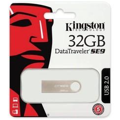 Kingston 32 GB USB Stick - Silver 740617206395