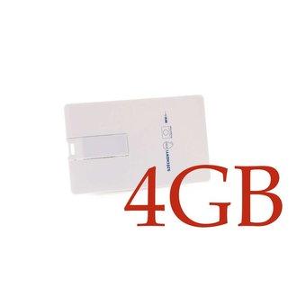 USB Stick 4GB - Wit (8719273145906 )
