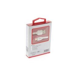 UNIQ Accessory Lightning USB Kabel 1m 2.1A Wit (8719273250570 )