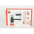 Andere merken 2in1 Imitatie Micro USB Kabel - Zwart