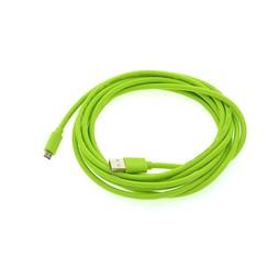 Micro USB 3 m datakabel - Groen