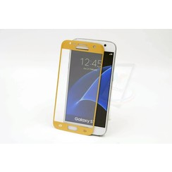 Tempered glass voor Galaxy S7 (8719273209127)-Goud