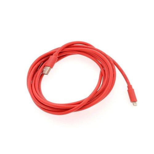 Andere merken Apple Lightning 3m datakabel - Rood