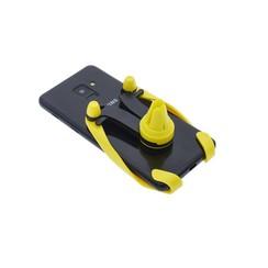 Flexibel Goud Telefoonhouder auto - Universele telefoonhouder Ventilatierooster -Veilig Bellen en Navigeren - Kunststof