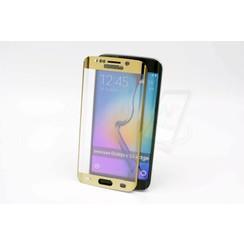Tempered glass voor Galaxy S6 Edge (8719273209202)-Goud