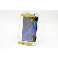 Tempered glass voor Galaxy S7 Edge (8719273209165)-Goud