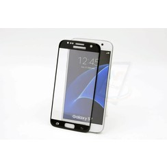 Tempered glass voor Galaxy S7 (8719273209134)-Zwart