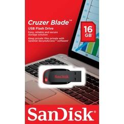Sandisk 16 GB USB Stick - Zwart 619659000431