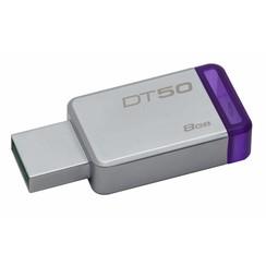 Kingston 8 GB USB Stick - Silver 740617255577