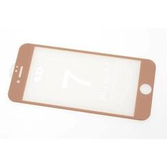 Tempered glass voor iPhone 7 Plus (8719273251645)-Goud