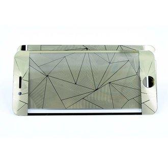 Tempered glass voor iPhone 6S (8719273204276)-Goud
