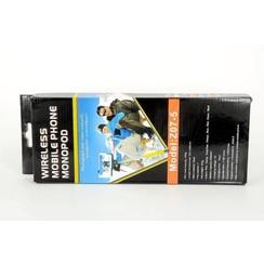 Wireless Monopad Selfie Stick - Zwart