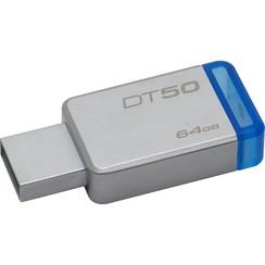 Kingston 64 GB USB Stick - DT50 Silver 740617255751