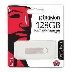Kingston 128 GB USB Stick - Silver 740617237825