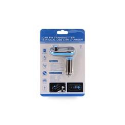 FM Transmitter Blauw USB SD AUX - FM (8719273145913 )
