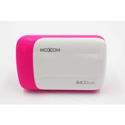 Powerbank Pink 8400 mAh (incl. cable) - Lightweight Serie