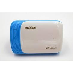 Powerbank Bleu 8400 mAh (incl. cable) - Lightweight Serie