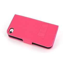 Apple iPhone 4G-S - iPh 4G-S - Business 2 Book case - Pink