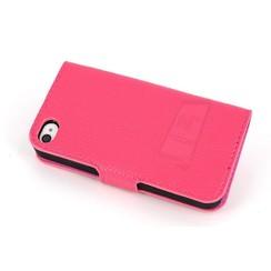 Boekmodel hoesje geschikt voor iPhone 4G/S, - iPh 4G/S beschikbaar in diverse kleuren. Uit groothandel voorraad.