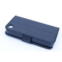 Book case voor Apple iPhone 4G-S - Zwart