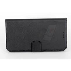 Alcatel Pop C7  Card holder Black Book type case for Pop C7  Magnetic closure