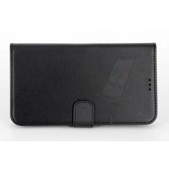 Book case voor One Touch - Zwart