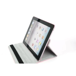 Apple L Pink Book Case Tablet for iPad 2-3-4