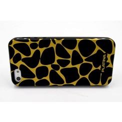 Silicone coque noir - Apple iPhone 5G/S/SE (8719273226223)