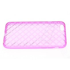 Apple iPhone 6/6S - Silicone case - Pink (8719273123621)