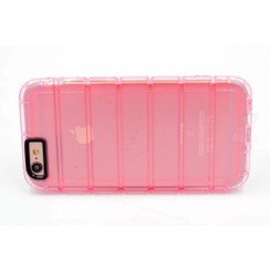Apple iPhone 6/6S - Silicone case - Pink (8719273222805)