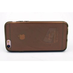 Apple iPhone 6/6S - Silicone case - Black (8719273217597)