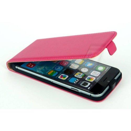 Andere merken Apple iPhone 6/6S Roze Booktype hoesje - Magneetsluiting