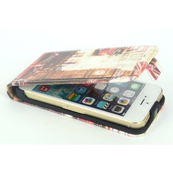 Apple iPhone 5C - iPh 5C - Paris 3 Flip coque - Paris 3