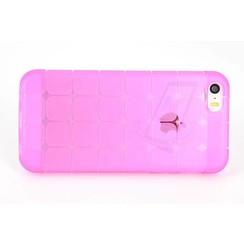 Apple iPhone 5C - iPh 5C - Creative Silicone coque - rose