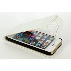 Apple iPhone 5/5s/SE Titulaire de la carte Blanc Book type housse - Fermeture magnétique