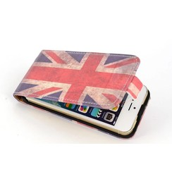 Apple iPhone 5C - iPh 5C - Flags Flip case - Uk