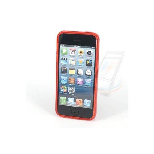 Andere merken Backcover voor Apple iPhone 5 - Rood