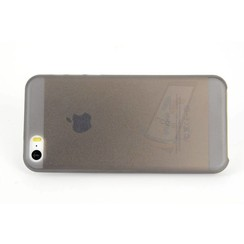 Apple iPhone 5C - iPh 5C - Mat Back Cover Flip case - Black