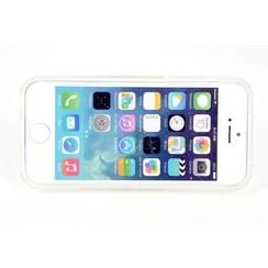 Apple iPhone 5C - iPh 5C - Creative Silicone coque - blanc