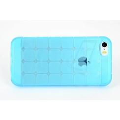 Apple iPhone 5C - iPh 5C - Creative Silicone coque - Bleu