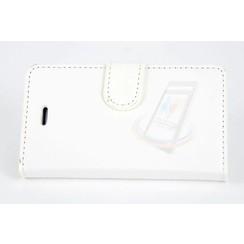 Book case voor Apple iPhone 4G-S - Wit