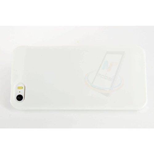 Andere merken Backcover voor Apple iPhone 5 - Wit
